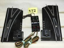AMERICAN FLYER S SCALE 720A REMOTE CONTROL TRACK SWITCHES RUST FREE READY TO RUN