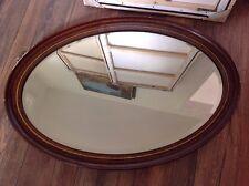 Antique Oval Mirror, Jones And Higgins, Peckham