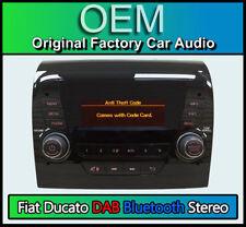 Fiat Ducato Stereo DAB Radio, Bluetooth Freisprechanlage, 250 Vp1 mit Code