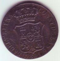 Monete 6 Quarti Isabel II - Anno 1841 - Catalogna - Barcellona