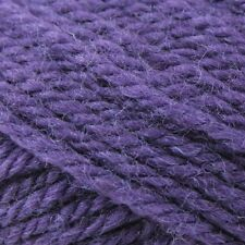 Cleckheaton Country 8ply 100 Wool 9 Balls Purple 50 Grams Same Batch