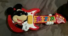 Disney Rock Star Mickey Mouse Club House musical Toy Guitar
