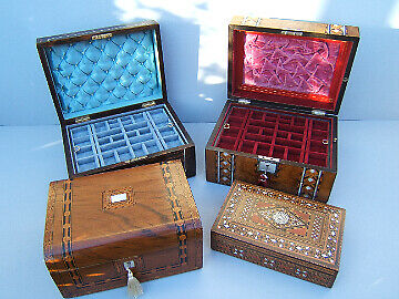 MTS ANTIQUE JEWELLERY BOXES
