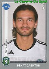 394 RENAT SABITOV FK.TOM TOMSK STICKER PANINI RUSSIA LEAGUE 2012