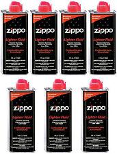 7 Zippo Cans 4 Ounce Fuel Fluid