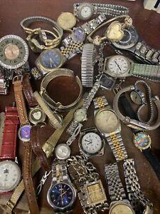 Men's/Women's Watches for Parts/Repair Lot - 33 pieces