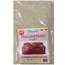 Mobilier de tissu Beige pointillé 270x280 couvre tout granfoulard Housse