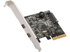 Rosewill PCIe 2 Ports (2 Type-C) USB 3.2 Gen 2 Host Adapter