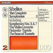 Sibelius: The Complete Symphonies Vol 2, nos 3, 6 & 7/Violin Concerto,  CD   002