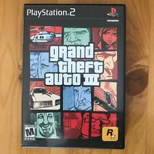 Grand Theft Auto III GTA 3 - Sony PlayStation 2, PS2 Video Game TESTED