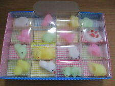 Mochi Pancake Doll Luminous Soft Figure 1.5in Animals Squeeze 16P Assort Set