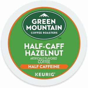 Green Mountain Half Caff Hazelnut Coffee 24 to 144 Keurig K cups Pick Any Size
