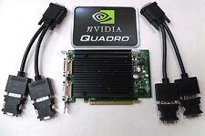 PCIe X16 Quad Display Graphics Card Nvidia Quadro NVS440 256MB VCQ440NVS-PCIEX16