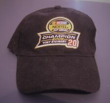 TONY STEWART #20 2005 NEXTEL CUP CHAMPION HAT/CAP NEW WITH TAG WINNER'S CIRCLE