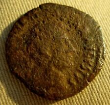 LARGE ROMAN EMPIRE COIN AUGUSTUS 27 BC-14 AD. FROM A COMMODORE'S ESTATE