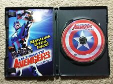 ULTIMATE AVENGERS: THE MOVIE DVD WITH DVD-ROM GAME/ ANIMATED MARVEL FEATURE    P