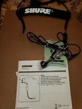 Shure WH20 Headset Mic For Shute Wireless System..