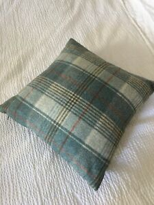 Gorgeous British made Tartan wool cushion