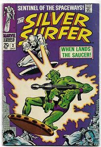 SILVER SURFER#2 FN/VF 1968 MARVEL SILVER AGE COMICS