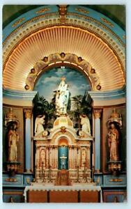 GLOUCESTER, Massachusetts MA ~ Alter OUR LADY OF GOOD VOYAGE CHURCH  Postcard