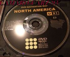 Toyota GPS Navigation DVD Map original disc U91 D USA nav cd map , FAST SHIPPING