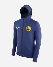 Nike Golden State Warriors Showtime Therma Flex Hoodie Jacket 940128-495 Men's L