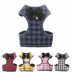 Breathable Pet Dog Vest Harness Leather Harnesses Set Puppy Rabbit Cat