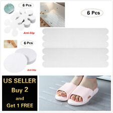 6 Pcs Anti Slip Grip Strips Non-Slip Safety Flooring Bath Tub Shower Stickers