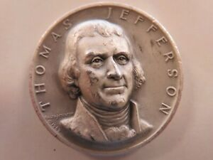 Medallic Art Co .999+ pure silver Thomas Jefferson President  #424