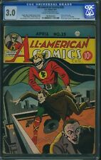 ALL AMERICAN COMICS #25 cgc 3.0 early Green Lantern 1941