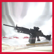 HOT TOYS 1/6 G.I.Joe Retaliation ROADBLOCK Very Detail MACHINE GUN ! The Rock