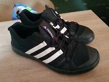 Adidas Terrex Trainer Boat Shoe  black outdoor breathable uk size 10.5 eu 45 men