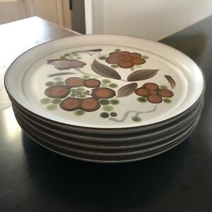 5 Dinner Plates Orinda by NORITAKE