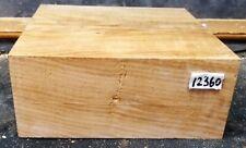 Figured Maple Wood 12360 One Beautiful Turning Blank Lathe Lumber 9x 9x 3.625