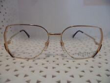 Geoffrey Beene Mod.GB-1020 Gold Vintage 80's Womens Eyeglasses  (TF18 @