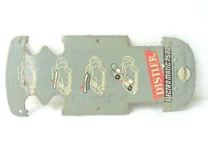 BODENPLATTE für Distler Porsche Electromatic 7500 FS 2. Serie 1956 - 1962