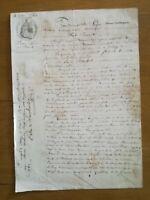 3 mai 1860 Procuration Leger Barbat - Limoges - 2 pages