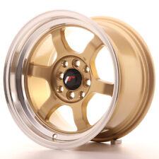 Japan Racing JR12 Alloy Wheel 15x8.5 - 4x114.3 / 4x100 - ET13 - Gold