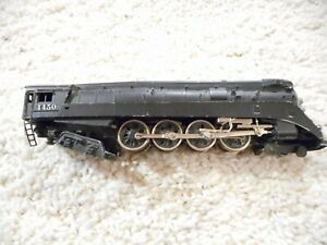 HO SCALE BRASS UNITED JAPAN SOUTHERN PACIFIC DAYLIGHT STEAM ENGINE ONLY