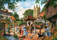 1000 Pieces Jigsaw Puzzle Village Church Wedding - Brand New & Sealed
