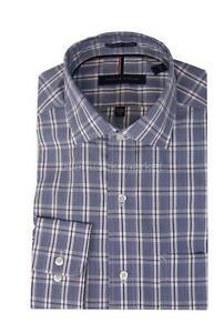 MENS TOMMY HILFIGER REGULAR FIT NON IRON BUTTON FRONT DRESS SHIRT VARIETY!