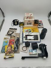 Huge Lot Of Vintage Camera Equipment  Great For Reselling Some New Old Stock