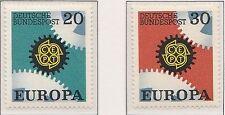 Europa CEPT 1967 Duitsland 533-534  - POSTFRIS MNH