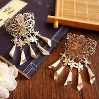 Fashion Hollow Hair Clip Retro Hairpin Hair Claw Tassel Headwear