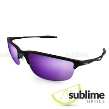 Metallic Indigo Purple Polarized Replacement lenses for Oakley Half Wire 2.0