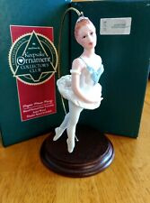 Hallmark 1990 Sugar Plum Fairy Collector's Club Ornament Nutcracker Ballerina