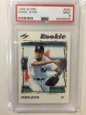 1995 Score Derek Jeter Baseball Rookie Card #240 PSA Mint 9