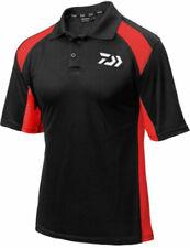 DAIWA POLO SHIRT BLACK/RED  RRP £24.99 XXXL