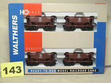 SET OF FOUR WALTHERS HO SCALE #932-4404 DULUTH MISSABE & IRON RANGE ORE CARS NEW