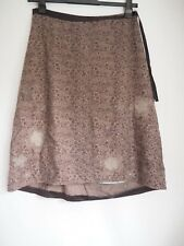 White Stuff Skirt 12 Brown